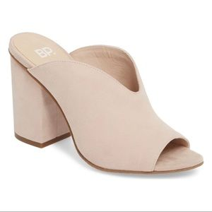 BP. Tonya Open Toe Heel